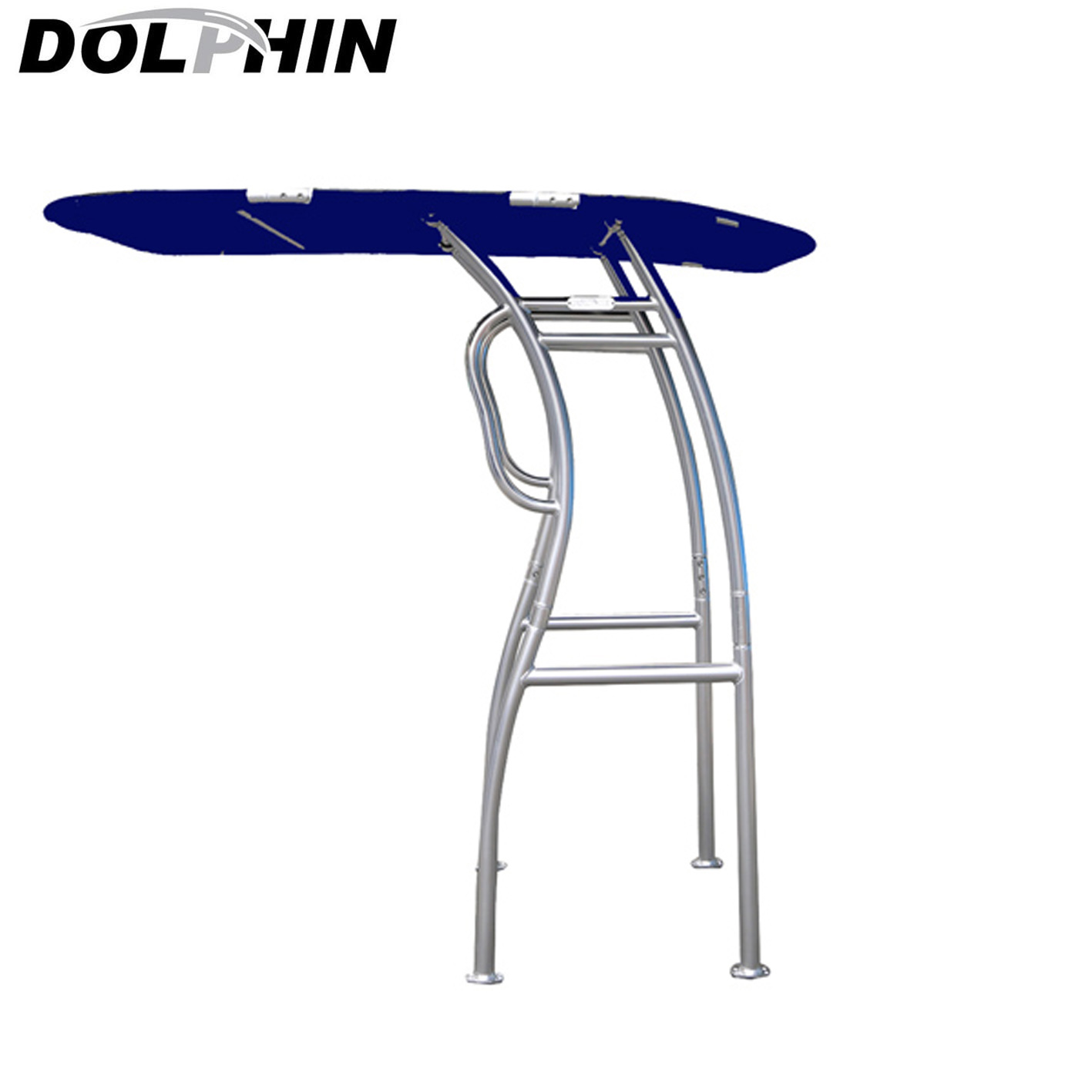 Dolphin Pro2 T Top Anodized Frame Blue canopy plus quick release knobs + antenna bracket