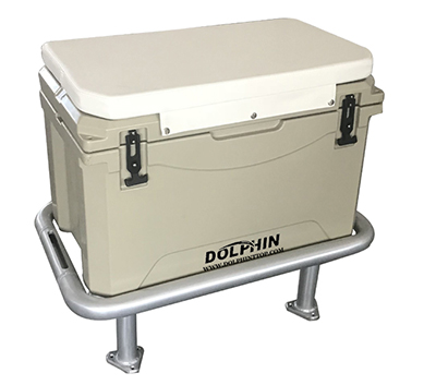 Dolphin 85QT (80L) fishing cooler & seat