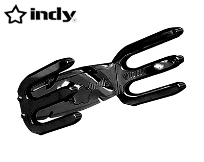 Indy Max Quick Release Wakeboard Rack Black Coated